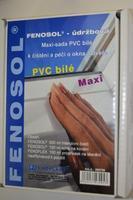 Čistící a údržbová sada maxi - PVC Bílá
