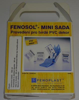 Čistící a údržbová sada  mini - PVC Barva