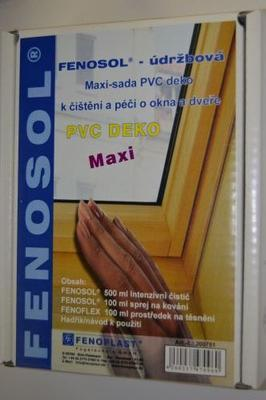 Čistící a údržbová sada maxi - PVC Barva